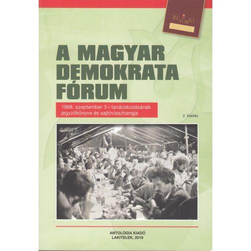 A Magyar Demokrata Fórum