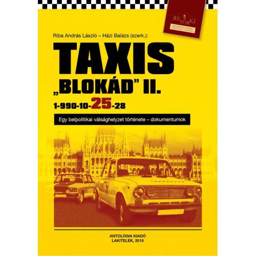 Taxis blokád
